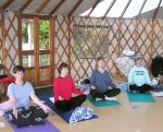 Yoga in the Yurt